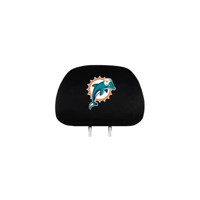 Prime Miami Dolphins Car Seat Headrest Covers On Popscreen Pabps2019 Chair Design Images Pabps2019Com