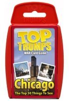 Top Trumps card game - Chicago Top 30 Things To See - 1