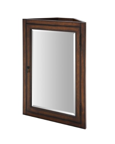 Picture of Xylem MC-CARLTON-24BN 24-Inch Carlton Medicine Cabinet For Corner Vanity, Antique Maple B003ZHTOYS (Xylem)