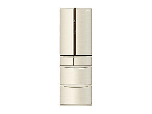 パナソニック 426L 6ドア冷蔵庫(シャンパン)Panasonic エコナビ NR-F430V-N