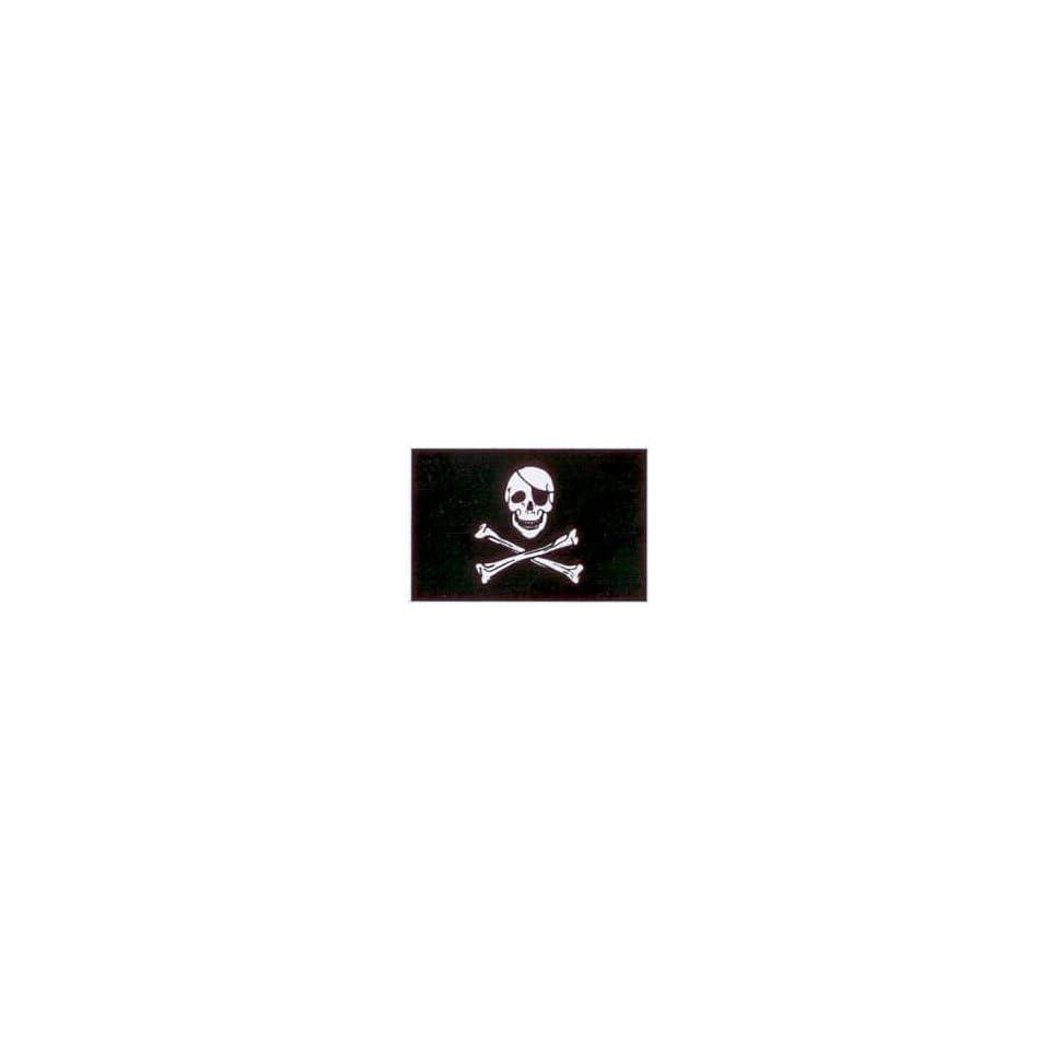 Skull & Crossbones Jolly Roger Pirate Flag 90x150cm #1