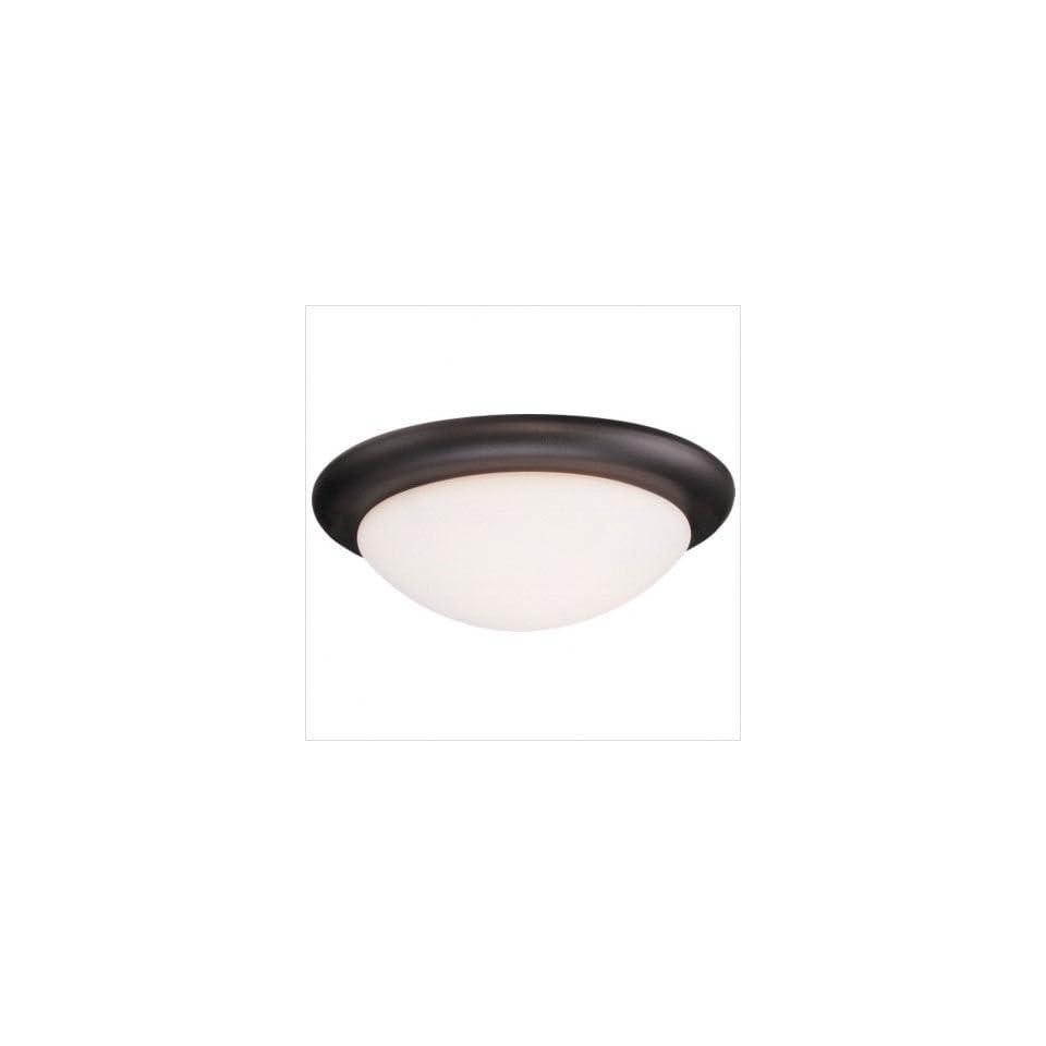 Monte Carlo Fan Company MC18 Matte Opal Disc Ceiling Fan Light Kit Finish White