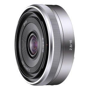 SONY 薄型広角レンズ E 16mm F2.8 SEL16F28