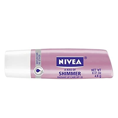 Cheapest Nivea a Kiss of Shimmer Radiant Lip Care SPF 10, 0.17-Ounce Sticks (Pack of 6) by Nivea - Free Shipping Available