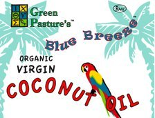 Green Pastures Organic Virgin Cold Pressed Coconut Oil 27oz Jar - Great for Baking - Frying - Oil Pulling