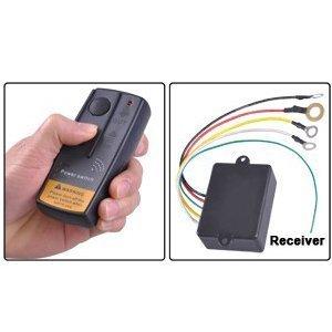Universal Wireless 12V 12 Volt Electric Winch Remote Control System Kit Car Auto Automotive Truck Picktruck