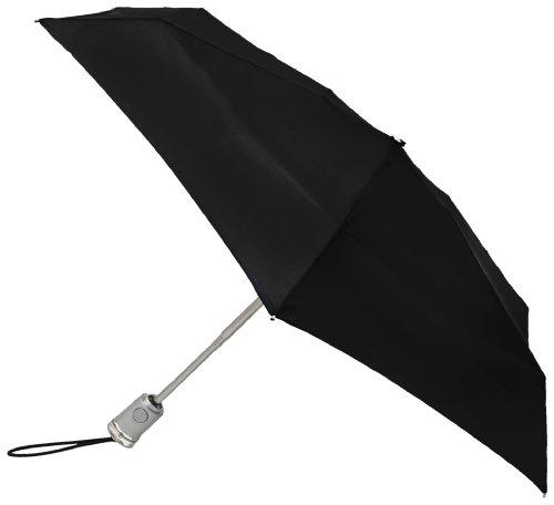 Totes Basic Automatic Umbrella,Black,One Size