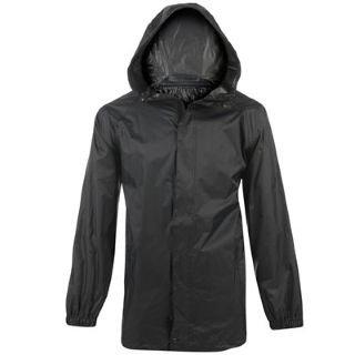 Regatta Packaway Jacket Mens Black Small
