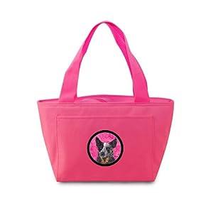 Pink Australian Cattle Dog Lunch Bag or Doggie Bag SC9141PK from Caroline's Treasures