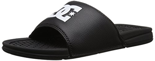 DC Men's Bolsa Slide Sandal, Black, 7 M US