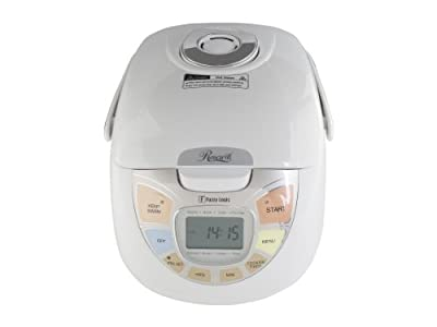 Rosewill 5.5 Cup Uncooked Fuzzy Logic Rice Cooker and Food Steamer by Rosewill