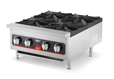 "Vollrath (40737) - 24"" Gas Hot Plate - Cayenne Series"