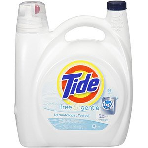Tide  150oz Free and Gentle High Efficiency
