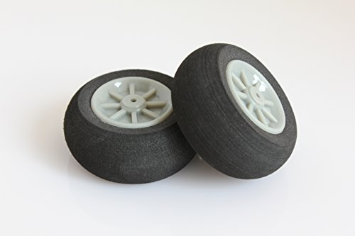 RC Plastic Core Sponge Wheels D40mm