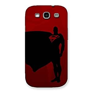 Gorgeous Red Uper Back Case Cover for Galaxy S3 Neo