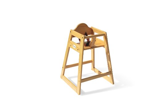 Foundations Hardwood High Chair, Natural - 1