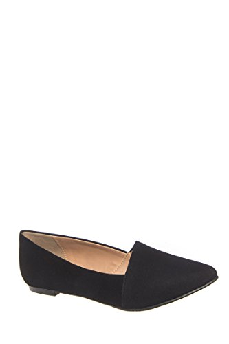 Night Owl Pointed Toe Flat