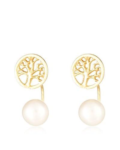 Córdoba Jewels Ohrringe vergoldetes Silber 925