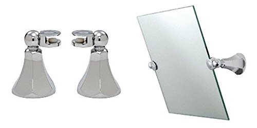Crl Bell Design Chrome Mirror Pivots By Cr Laurence front-444801