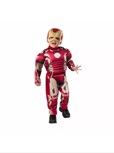 Marvel Iron Man 3 Mark 42 Boys Toddler Halloween Costume NEW Padded Cheap! (Assassin Creed Costume For Kids Cheap)