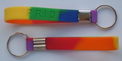 Portachiavi, motivo: Gay Pride