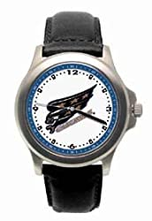 Washington Capitals Mens Rookie League Leather Strap Watch
