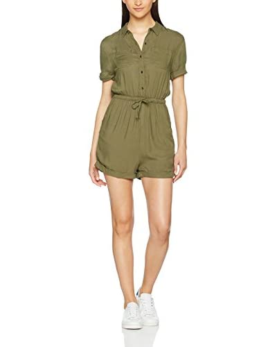Superdry Overall Super Playsuit khaki
