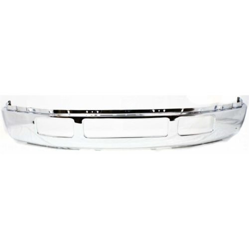 Perfect Fit Group F010907 - F-Series Super Duty Front Bumper Chrome, W/O Fender Flare Holes (2005 Ford Excursion Fender Flares compare prices)