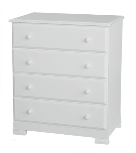 Cheapest Prices! DaVinci Kalani 4 -Drawer Dresser - White