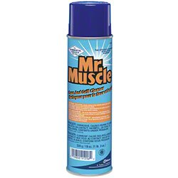 Mr. Muscle Oven & Grill Cleaner 19oz Can Aerosol 91206 1 Case/6 Cans