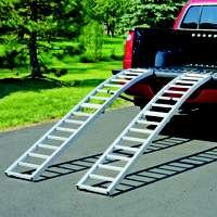 Highland (1122400) 90 Aluminum Arched Loading Ramp - Pair by Highland