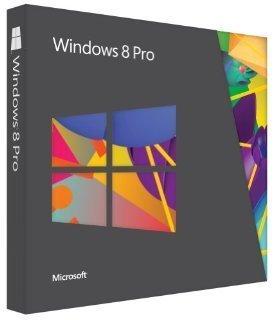 Microsoft Windows 8 Pro - Upgrade from Windows XP, Windows Vista or Windows 7, English Professional Edition