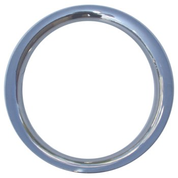 "16"" Stainless Trim Rings Set 1 3/4"" Depth Beauty Rings New Set of 4"