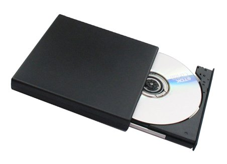 CD/DVD RW Drive Dekcell USB Slim External Rewriteable, DVD Burner
