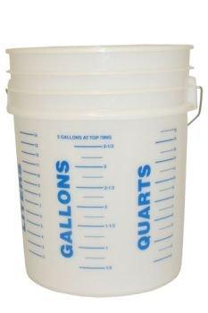 5 Gallon Bucket w/Measurements Great for Bucket Boss Kraft Tool