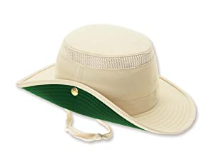 Tilley Endurables LTM3 Airflo Hat,Natural/Green,7.125