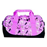 Wildkin Horses in Pink Duffel Bag