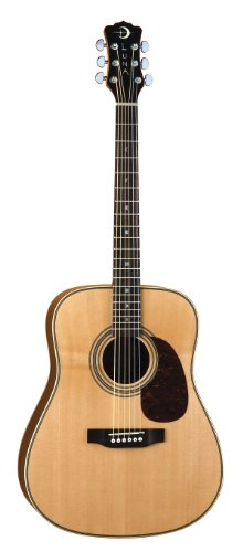 Luna Am D50 Americana Classic Dreadnaught Acoustic-Electric Guitar