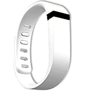 Replacement Wrist Band for Fitbit Flex (White, Large)