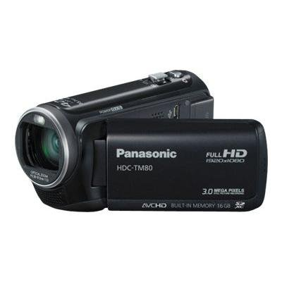 Panasonic HDC-TM80K HD Twin Memory Camcorder (Black)