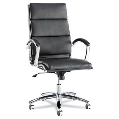 neratoli-high-back-swivel-tilt-chair-black-soft-touch-leather-chrome-frame-sold-as-1-each
