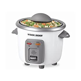 Amazon - Black & Decker 3-Cup Rice Cookers - $14.99