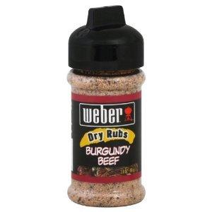 weber dry rubs burgundy beef meat grill. Black Bedroom Furniture Sets. Home Design Ideas