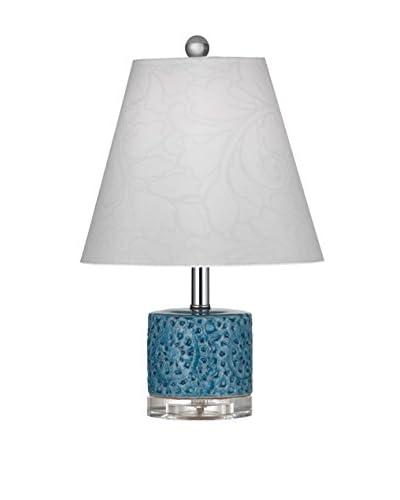 Bassett Mirror Company Noma Table Lamp, Turquoise