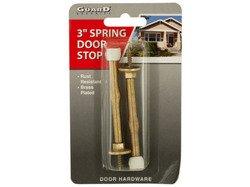 Brass-Plated Spring Door Stops ( Case of 72 ) (Ruby Slipper Door Stop compare prices)