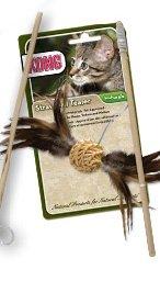 KONG Cat Naturals Straw Ball Teaser