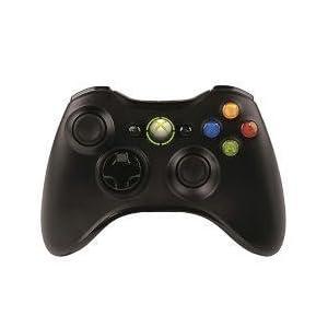 <モンスターハンター フロンティアオンライン推奨> マイクロソフト ワイヤレス ゲーム コントローラーXbox 360 Wireless Controller for Windows リキッド ブラック JR9-00013