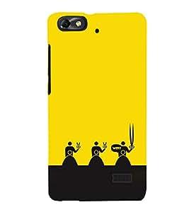EPICCASE WTF Attitude Mobile Back Case Cover For Xiaomi Redmi Mi4c (Designer Case)
