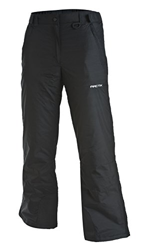 Arctix Women's Classic Snow Pants, Large, Black