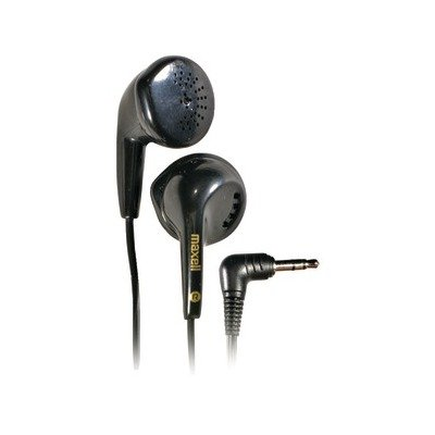 Maxell 190560 Eb-95 Stereo Earbuds, Black